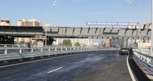 В Петербурге открылся Приморский путепровод