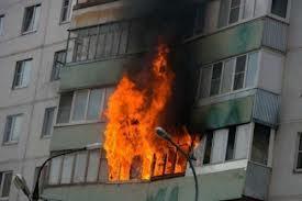 Пожар в Гатчинском районе.