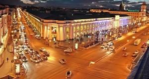 1 мая в Петербурге перекроют несколько центральных улиц