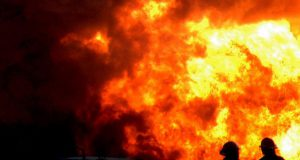 В Московском районе Петербурга в пожаре погиб человек