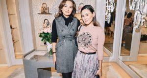 Асель Тасмагамбетова посетила презентацию новой коллекции DIOR в Алматы