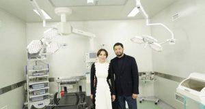 Асель Тасмагамбетова, Кенес Ракишев и аким Ермак Салимов открыли в Семее инновационное отделение экстренной детской хирургии